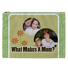 Mothers Day By Mom   Cosmetic Bag (xxl)   9k4vzzsr70hg   Www Artscow Com Front