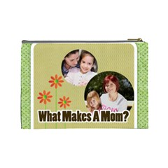 Mothers Day By Mom   Cosmetic Bag (large)   6wjtz2z4qz7z   Www Artscow Com Back