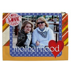 Mothers Day By Mom   Cosmetic Bag (xxl)   K30td8j66crl   Www Artscow Com Back