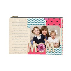Mothers Day By Mom   Cosmetic Bag (large)   Xflvshet2jyl   Www Artscow Com Front