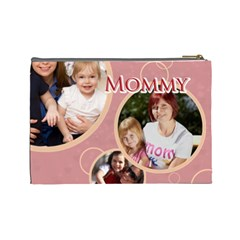 Mothers Day By Mom   Cosmetic Bag (large)   P9sm45bcrvl8   Www Artscow Com Back