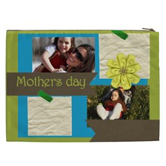 Mothers Day By Mom   Cosmetic Bag (xxl)   S1zm5zxb0wr7   Www Artscow Com Back