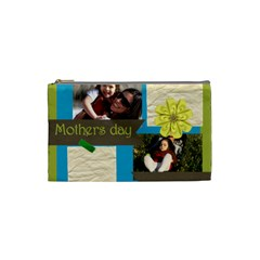 Mothers Day By Mom   Cosmetic Bag (small)   L8tsqmirii1j   Www Artscow Com Front