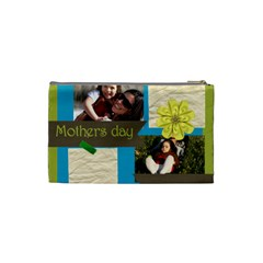 Mothers Day By Mom   Cosmetic Bag (small)   L8tsqmirii1j   Www Artscow Com Back