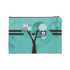 My Large Owl Bag By Emily   Cosmetic Bag (large)   Finosetq2e8a   Www Artscow Com Back