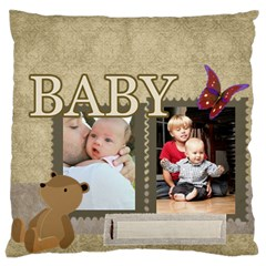 Baby By Baby   Large Cushion Case (two Sides)   Odq5z71th69d   Www Artscow Com Back