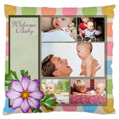 Baby By Baby   Large Cushion Case (two Sides)   Cdk79vjzjjr9   Www Artscow Com Back