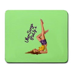 Pin Up Girl 4 Large Mouse Pad (rectangle)