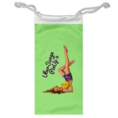 Pin Up Girl 4 Glasses Pouch by UberSurgePinUps
