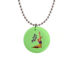 Pin Up Girl 4 Mini Button Necklace by UberSurgePinUps