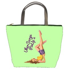 Pin Up Girl 4 Bucket Handbag by UberSurgePinUps