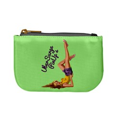 Pin Up Girl 4 Coin Change Purse