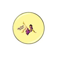 Pin Up Girl 1 Hat Clip Ball Marker