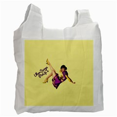 Pin Up Girl 1 Recycle Bag (two Side)