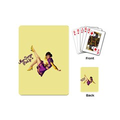 Pin Up Girl 1 Playing Cards (Mini)