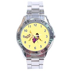 Pin Up Girl 1 Stainless Steel Analogue Men's Watch by UberSurgePinUps