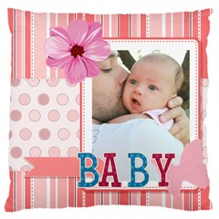 Baby By Baby   Large Cushion Case (two Sides)   X5b1asmxci2d   Www Artscow Com Back