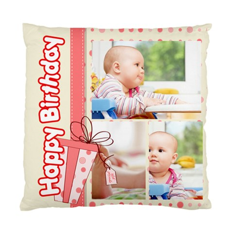 Baby By Baby   Standard Cushion Case (one Side)   Ryxgihgjo16c   Www Artscow Com Front