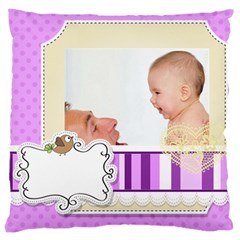 Baby By Baby   Large Cushion Case (two Sides)   O9dkppstsjk9   Www Artscow Com Back