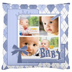 Baby By Baby   Large Cushion Case (two Sides)   Rxflp37z37h6   Www Artscow Com Back