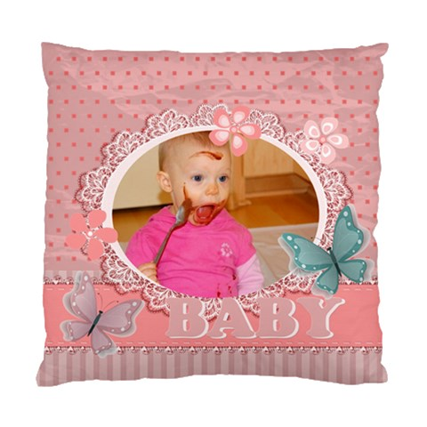 Baby By Baby   Standard Cushion Case (one Side)   4q7ccbmcslwu   Www Artscow Com Front