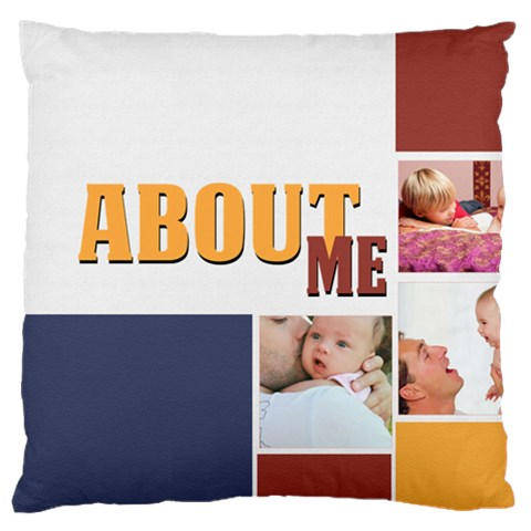 Baby By Baby   Large Cushion Case (one Side)   Odsz8j9mrob9   Www Artscow Com Front