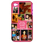 Briggs Phone - Apple iPhone 4/4S Hardshell Case (PC+Silicone)