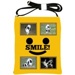 Smiley sling bag 2 - Shoulder Sling Bag
