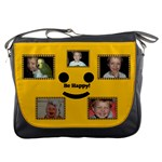 Be Happy messenger bag