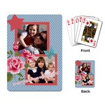 mothers day - Playing Cards Single Design
