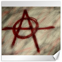 Anarchy Print 12  X 12  Unframed Canvas Print by VaughnIndustries