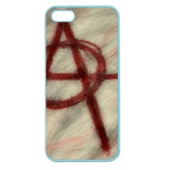 Anarchy Apple Seamless Iphone 5 Case (color) by VaughnIndustries