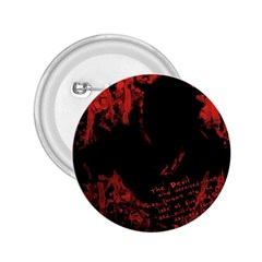 Tormented Devil Regular Button (round) by VaughnIndustries