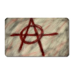 Anarchy Large Sticker Magnet (rectangle) by VaughnIndustries