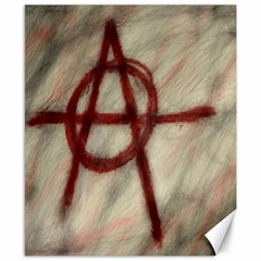 Anarchy 8  X 10  Unframed Canvas Print by VaughnIndustries