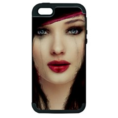 Beautiful Mess Apple Iphone 5 Hardshell Case (pc+silicone) by VaughnIndustries