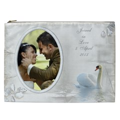 Our Love Cosmetic Bag (xxl) By Deborah   Cosmetic Bag (xxl)   P4txmmkmmgdo   Www Artscow Com Front