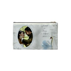 Our Love Cosmetic Bag (small) By Deborah   Cosmetic Bag (small)   Y7d9iyqp19ze   Www Artscow Com Back