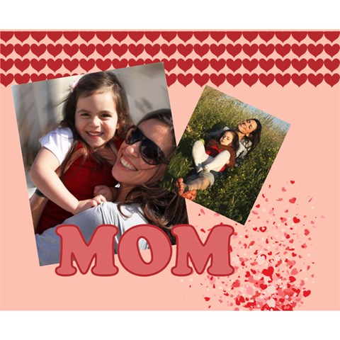 Mothers Day By Mom   Deluxe Canvas 14  X 11  (stretched)   I7bf8rzvme5y   Www Artscow Com 14  x 11  x 1.5  Stretched Canvas