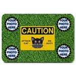 Attack Cat large door mat - Large Doormat