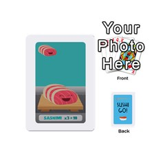 Sushi Mini Deck1 By Tina   Playing Cards 54 (mini)   T4h7s26ztooh   Www Artscow Com Front - Spade6