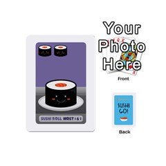 Sushi Mini Deck1 By Tina   Playing Cards 54 (mini)   T4h7s26ztooh   Www Artscow Com Front - Club3