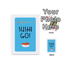 Sushi Mini Deck1 By Tina   Playing Cards 54 (mini)   T4h7s26ztooh   Www Artscow Com Back