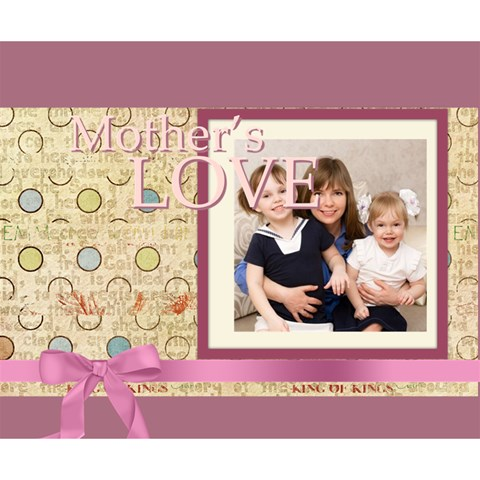 Mothers Day By Mom   Deluxe Canvas 14  X 11  (stretched)   Vpbv7tm3t9o0   Www Artscow Com 14  x 11  x 1.5  Stretched Canvas
