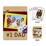 fathers day - Playing Cards Single Design