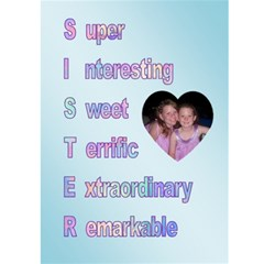 Shauna Card By Tina Coleman   Greeting Card 5  X 7    7ttleddf2pri   Www Artscow Com Front Inside