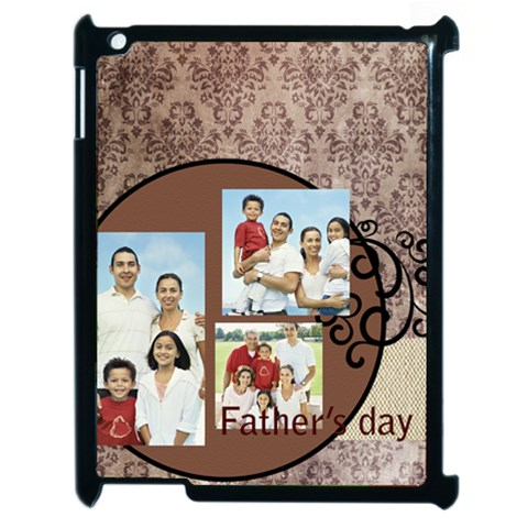 Fathers Day By Dad   Apple Ipad 2 Case (black)   G62w9le32688   Www Artscow Com Front
