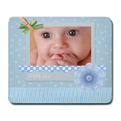 Baby By Joely   Large Mousepad   F61accn12s88   Www Artscow Com Front