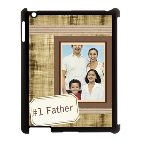 Fathers Day By Dad   Apple Ipad 3/4 Case (black)   F64ha7pez7hb   Www Artscow Com Front