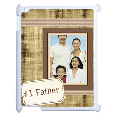 Fathers Day By Dad   Apple Ipad 2 Case (white)   Xghwiv099l9x   Www Artscow Com Front